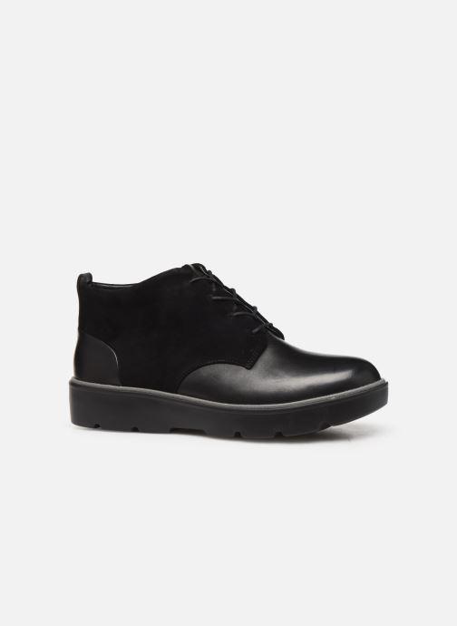 Bottines et boots Clarks Unstructured Un Balsa Mid Noir vue derrière