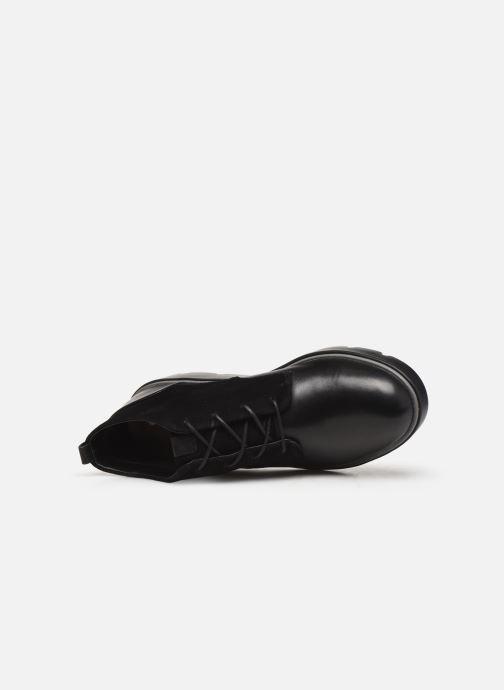 Bottines et boots Clarks Unstructured Un Balsa Mid Noir vue gauche
