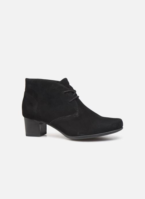 Bottines et boots Clarks Unstructured Un Damson Tie Noir vue derrière