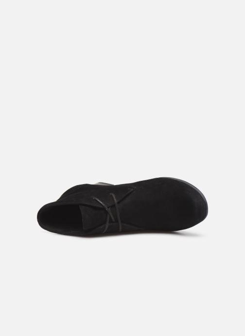 Bottines et boots Clarks Unstructured Un Damson Tie Noir vue gauche
