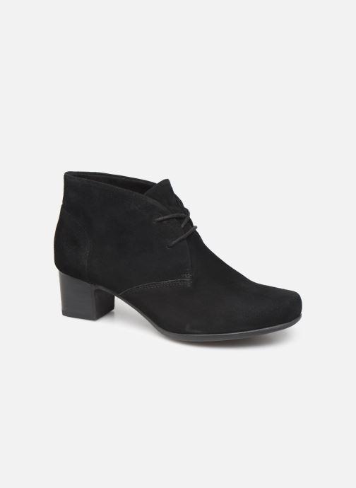 Bottines et boots Clarks Unstructured Un Damson Tie Noir vue détail/paire