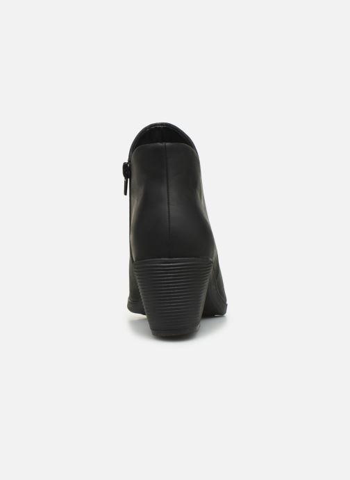 Bottines et boots Clarks Unstructured Un Lindel Zip Noir vue droite
