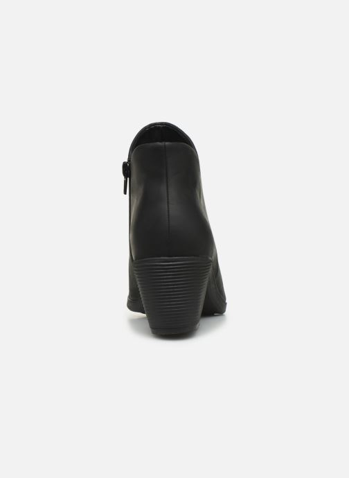 Boots en enkellaarsjes Clarks Unstructured Un Lindel Zip Zwart rechts