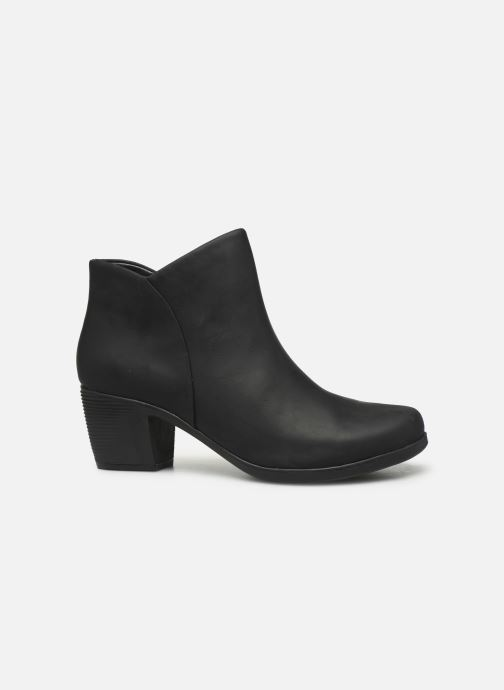 Boots en enkellaarsjes Clarks Unstructured Un Lindel Zip Zwart achterkant