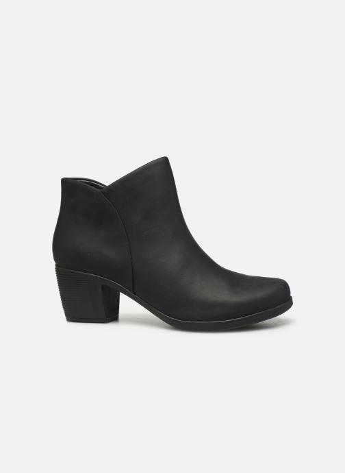 Bottines et boots Clarks Unstructured Un Lindel Zip Noir vue derrière