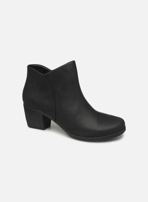 Boots en enkellaarsjes Clarks Unstructured Un Lindel Zip Zwart detail