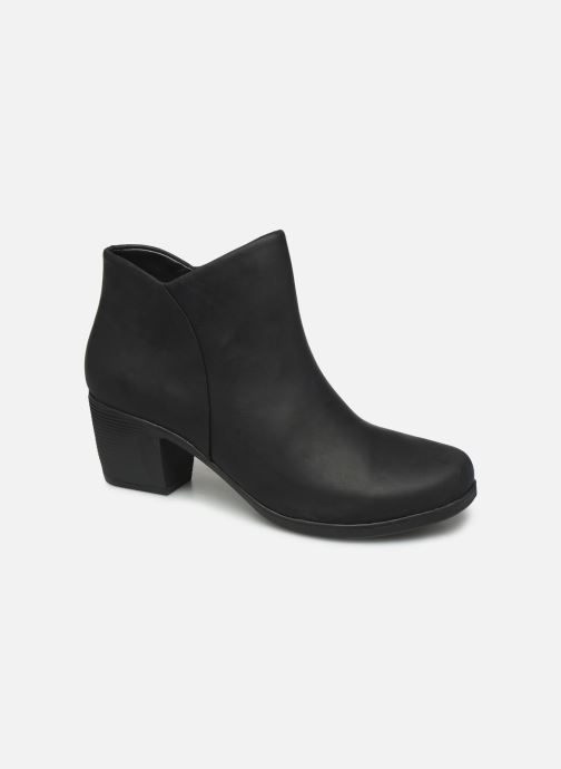 Bottines et boots Clarks Unstructured Un Lindel Zip Noir vue détail/paire