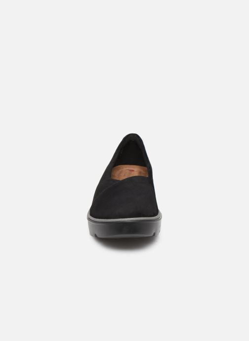 Ballerines Clarks Unstructured Un Balsa Go Noir vue portées chaussures