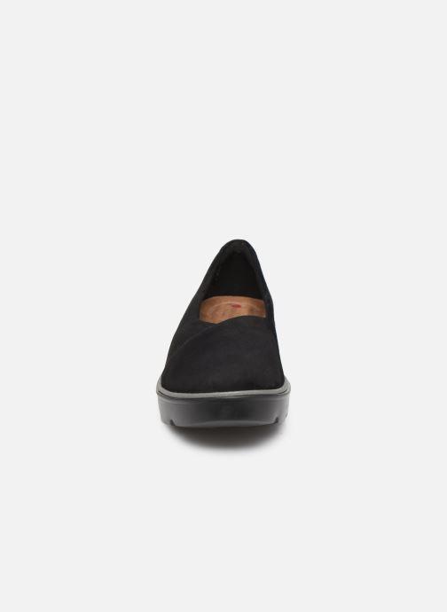 Ballerina Clarks Unstructured Un Balsa Go Svart bild av skorna på