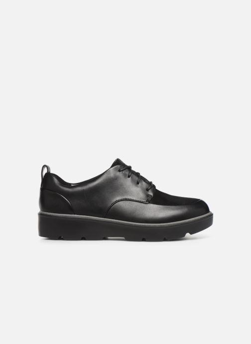 Zapatos con cordones Clarks Unstructured Un Balsa Lace Negro vistra trasera