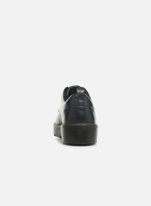 Chaussures à lacets Clarks Unstructured Un Balsa Lace Bleu vue droite