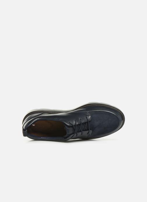Chaussures à lacets Clarks Unstructured Un Balsa Lace Bleu vue gauche