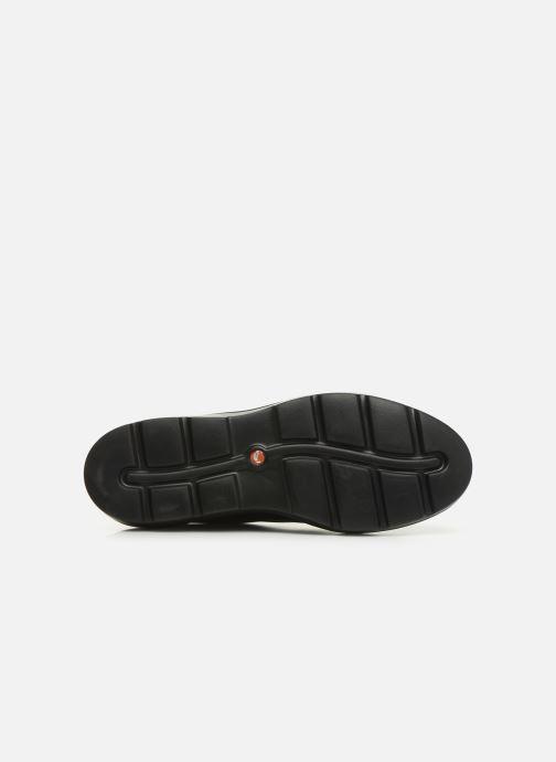 Zapatos con cordones Clarks Unstructured Un Balsa Lace Azul vista de arriba