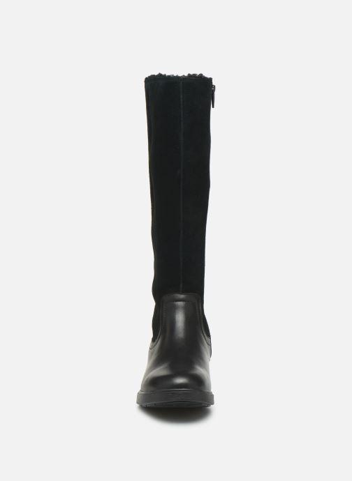 Stiefel Clarks Unstructured Un Elda Hi schwarz schuhe getragen