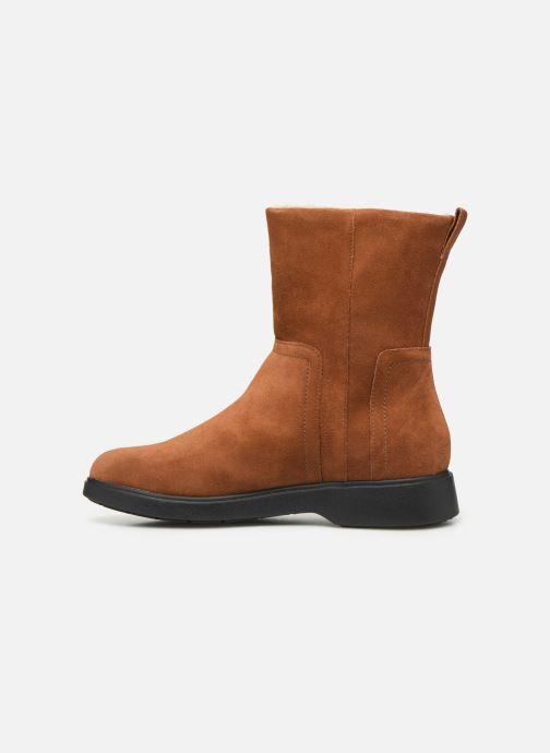 Bottines et boots Clarks Unstructured Un Elda Mid Marron vue face