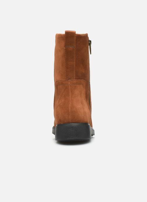 Bottines et boots Clarks Unstructured Un Elda Mid Marron vue droite