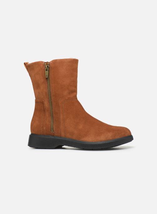Bottines et boots Clarks Unstructured Un Elda Mid Marron vue derrière