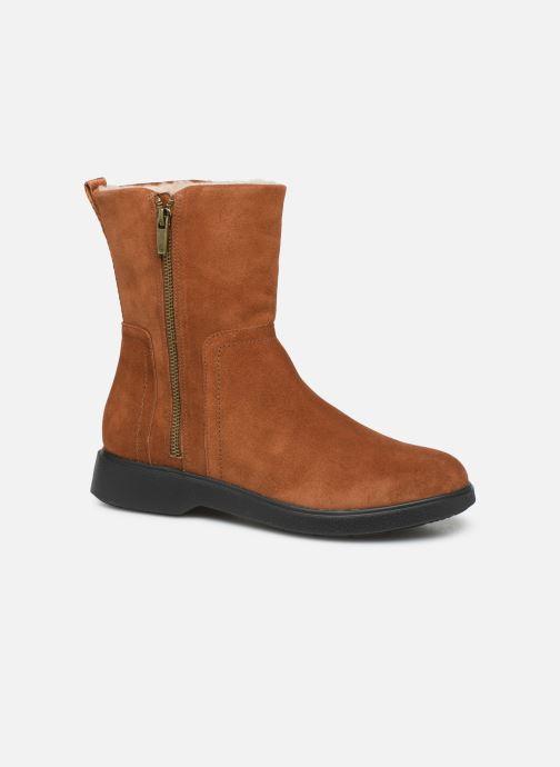 Bottines et boots Clarks Unstructured Un Elda Mid Marron vue détail/paire