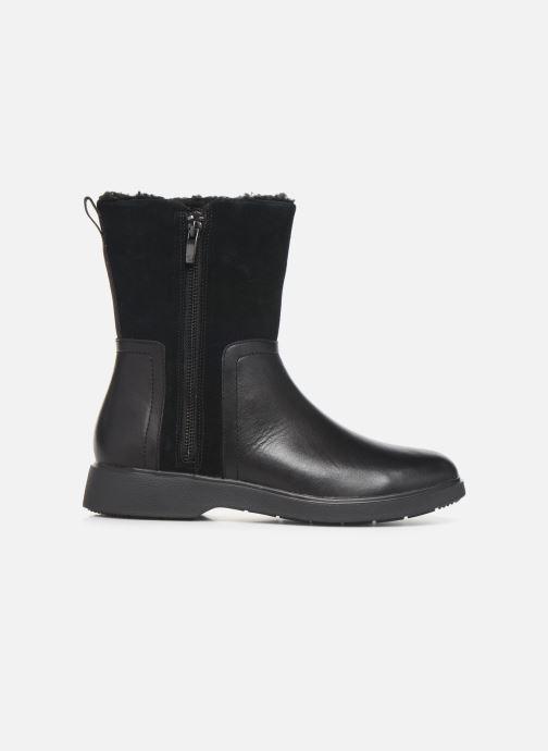 Boots en enkellaarsjes Clarks Unstructured Un Elda Mid Zwart achterkant