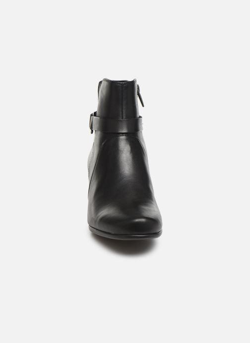 Bottines et boots Clarks Unstructured Un Damson Mid Noir vue portées chaussures