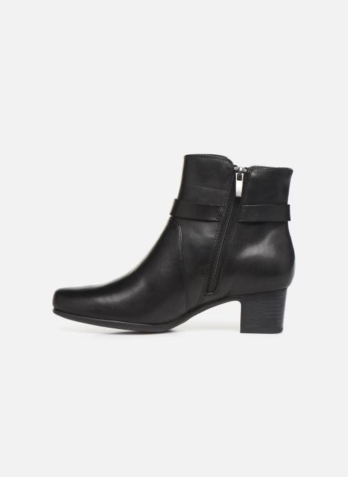 Bottines et boots Clarks Unstructured Un Damson Mid Noir vue face