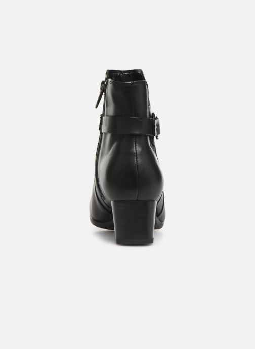 Bottines et boots Clarks Unstructured Un Damson Mid Noir vue droite