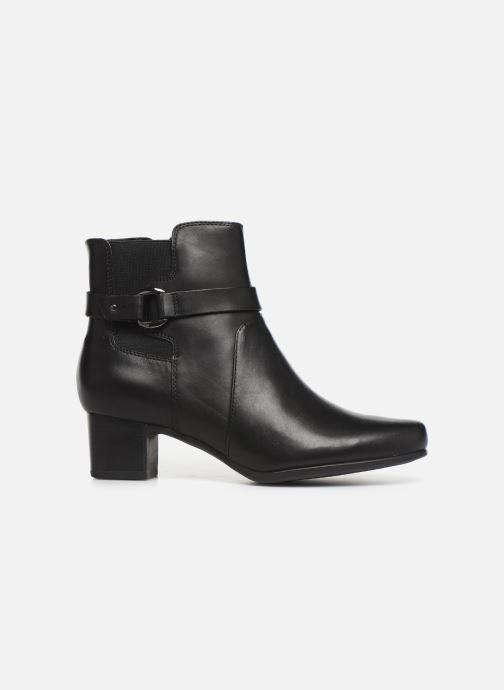 Bottines et boots Clarks Unstructured Un Damson Mid Noir vue derrière