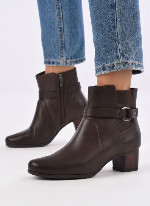 Stiefeletten & Boots Clarks Unstructured Un Damson Mid braun ansicht von unten / tasche getragen