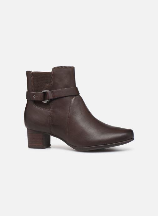 Bottines et boots Clarks Unstructured Un Damson Mid Marron vue derrière