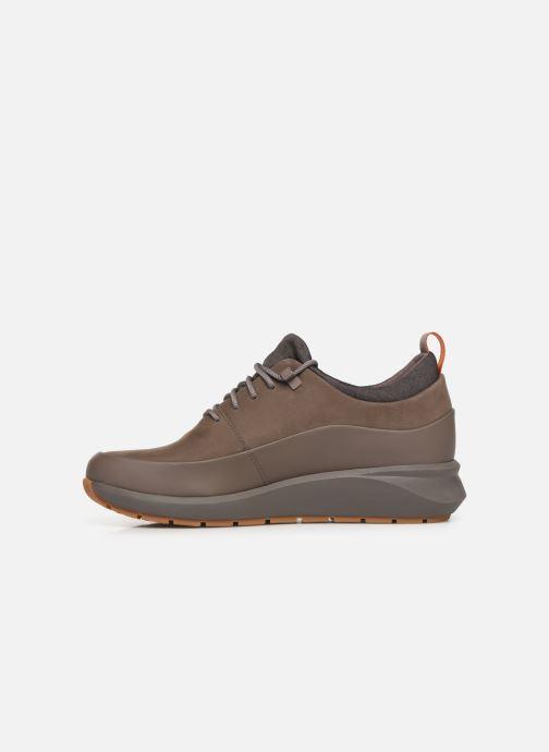 Sneakers Clarks Unstructured Un VentureLo. Marrone immagine frontale