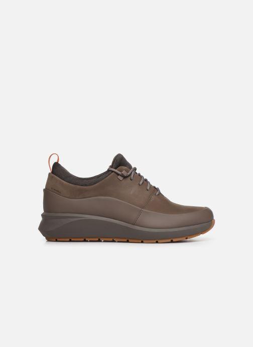 Sneakers Clarks Unstructured Un VentureLo. Bruin achterkant