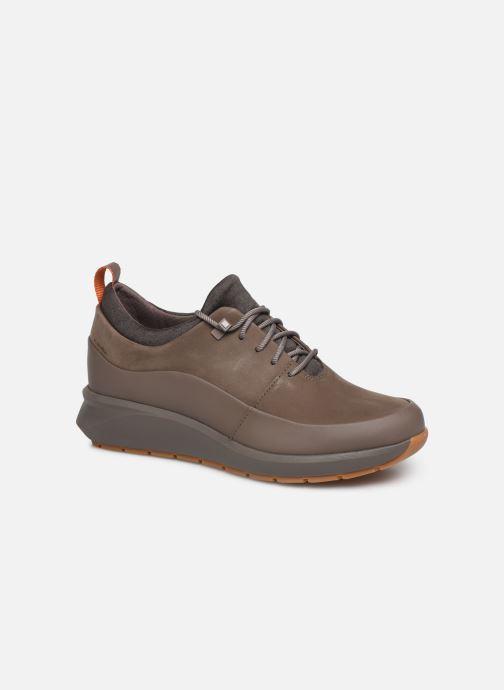 Sneakers Clarks Unstructured Un VentureLo. Bruin detail