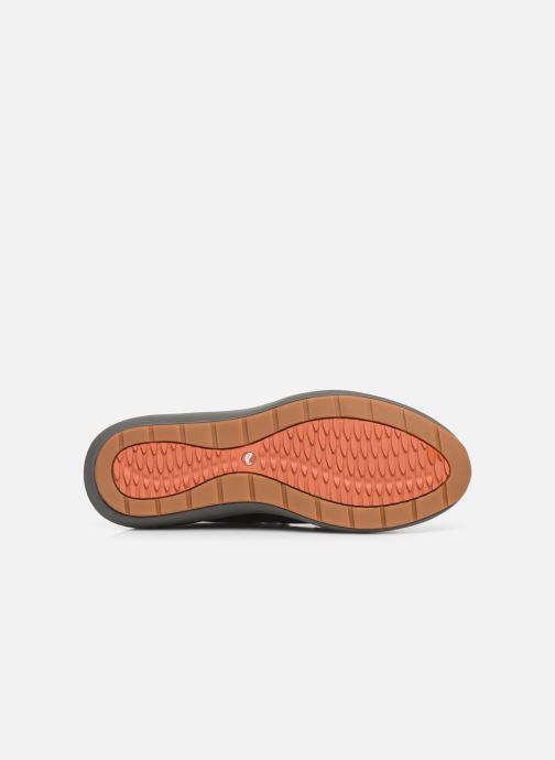 Baskets Clarks Unstructured Un VentureLo. Noir vue haut