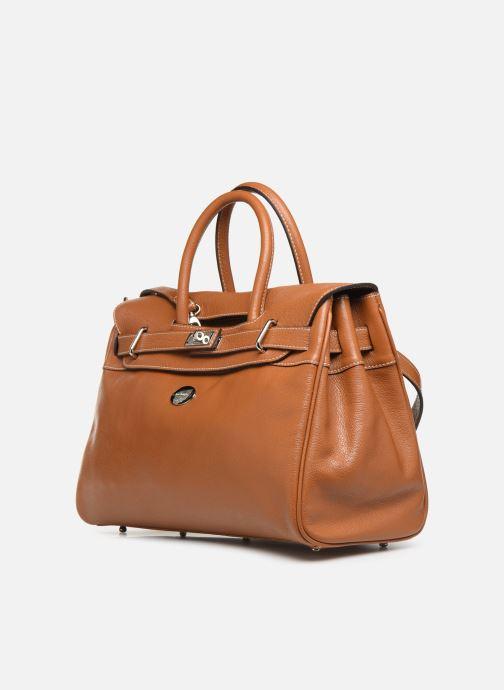 Handtaschen Mac Douglas PYLA-BUNI S braun schuhe getragen