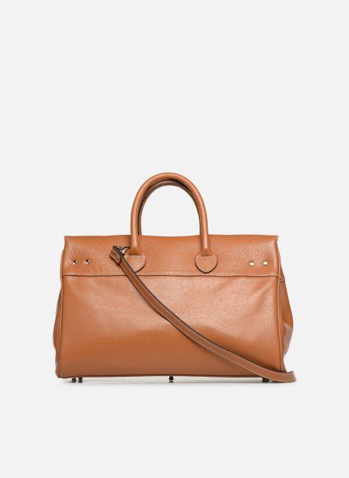 Handtaschen Mac Douglas PYLA-BUNI S braun ansicht von vorne