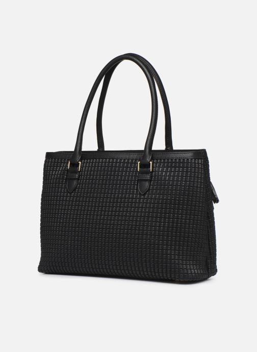 Handbags Mac Douglas LAUREN-BRYAN M Black view from the right