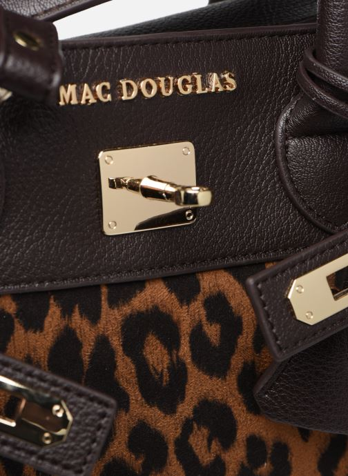 Handbags Mac Douglas PYLA-FANTASIA S Brown view from the left