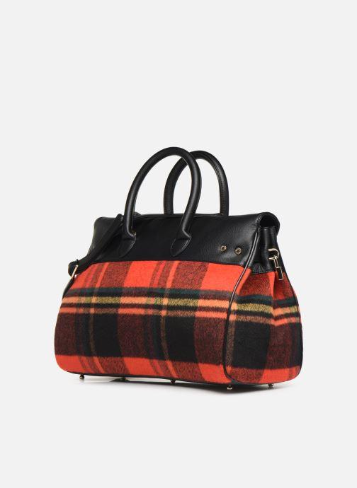 Handtaschen Mac Douglas PYLA-FANTASIA S rot ansicht von rechts