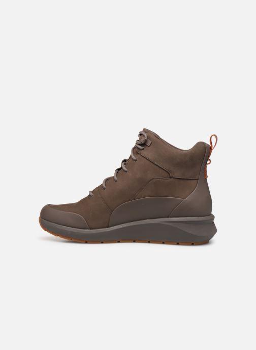 Stiefeletten & Boots Clarks Unstructured Un VentureHi. braun ansicht von vorne