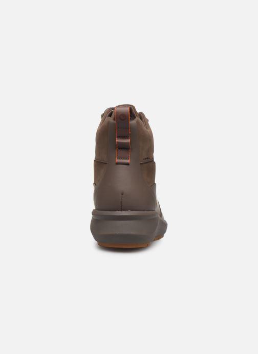 Stiefeletten & Boots Clarks Unstructured Un VentureHi. braun ansicht von rechts