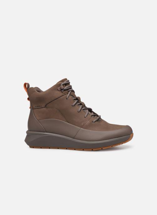 Stiefeletten & Boots Clarks Unstructured Un VentureHi. braun ansicht von hinten