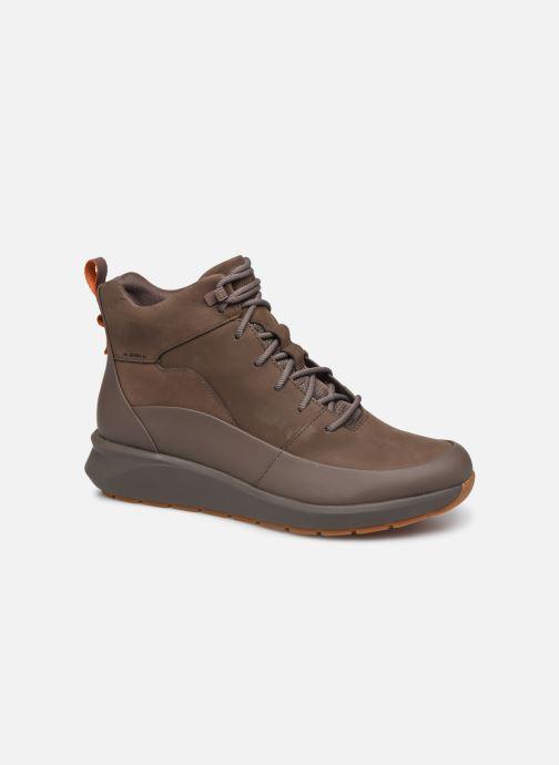 Bottines et boots Clarks Unstructured Un VentureHi. Marron vue détail/paire