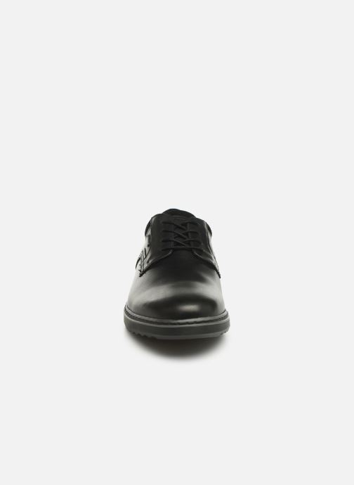 Snøresko Clarks Unstructured Un Geo LaceGTX Sort se skoene på
