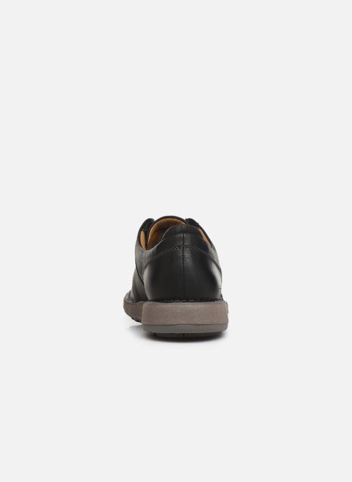 Sneakers Clarks Unstructured Un Larvik Lace Zwart rechts