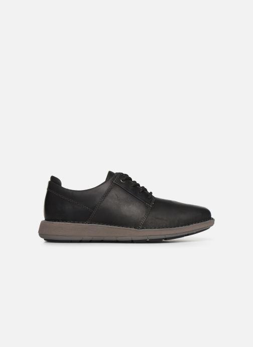 Sneakers Clarks Unstructured Un Larvik Lace Zwart achterkant