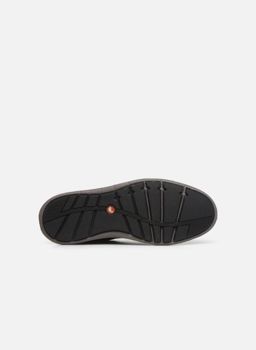 Baskets Clarks Unstructured Un Larvik Lace Noir vue haut