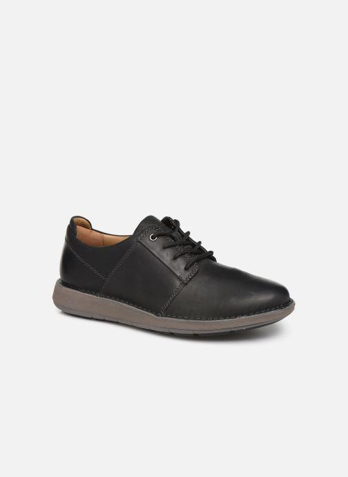 Sneakers Clarks Unstructured Un Larvik Lace Zwart detail