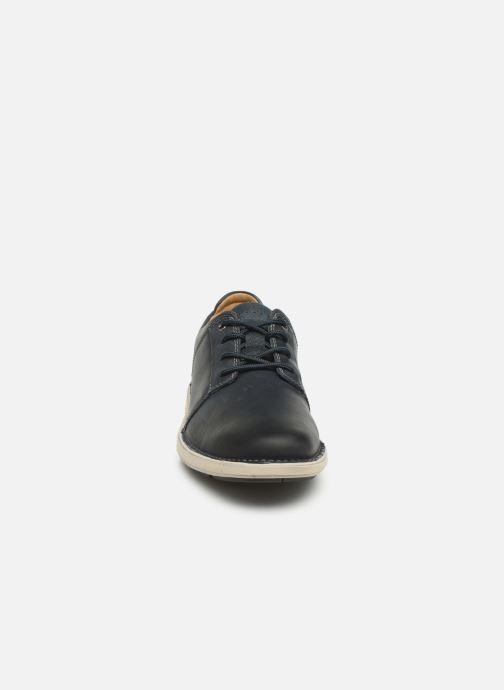 Sneakers Clarks Unstructured Un Larvik Lace Blauw model