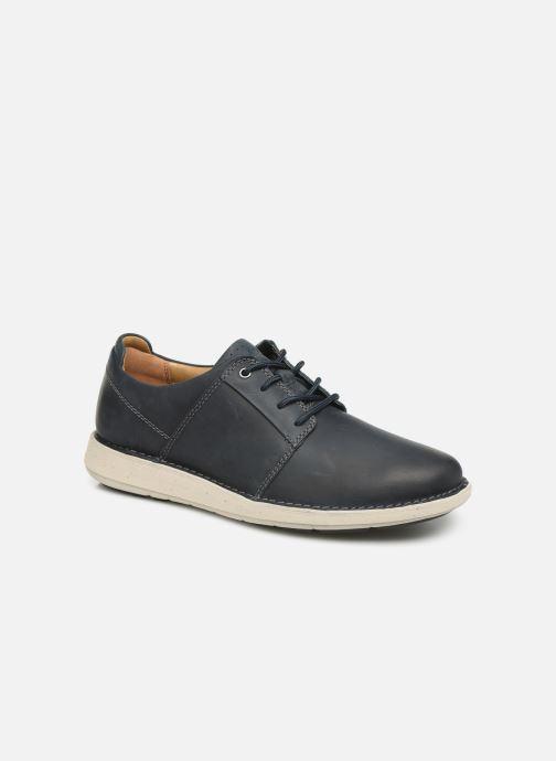 Sneakers Clarks Unstructured Un Larvik Lace Blauw detail