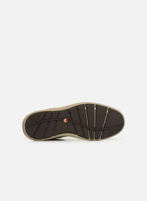 Sneaker Clarks Unstructured Un Larvik Lace braun ansicht von oben